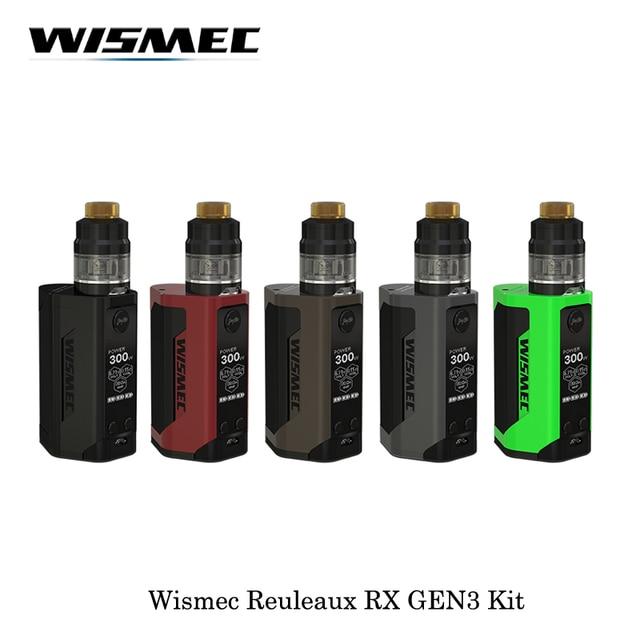 В наличии Новое поступление Электронные сигареты wismec reuleaux RX GEN3 300 Вт поле mod с gnome бак все новые WM катушки VAPE испарить