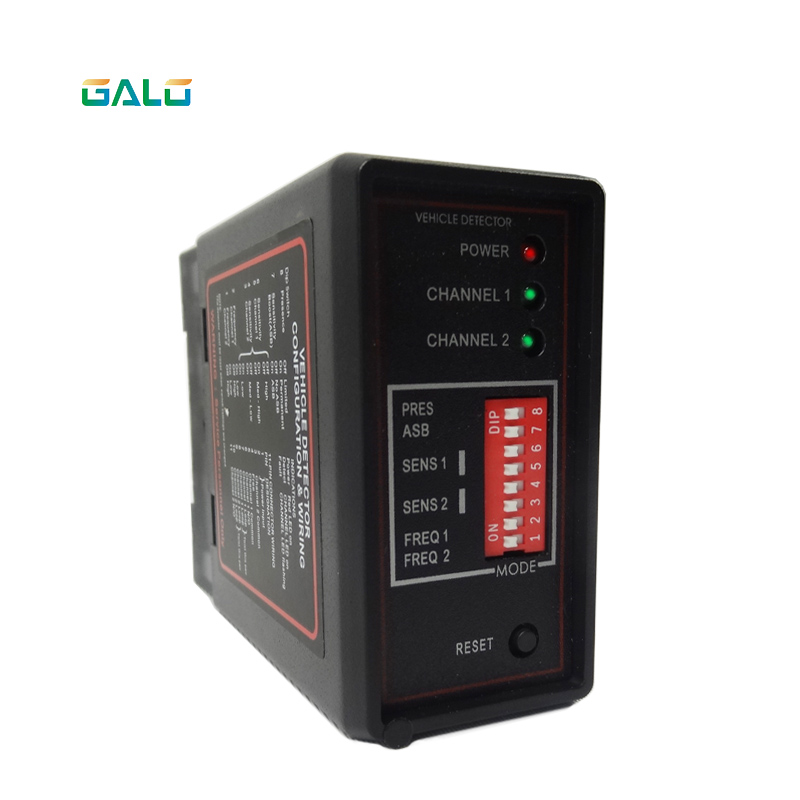 Double Channel Loop Detector For Car Detecting With 50M 0.75mm Loop Sensor Coil Wire Use For Parking System