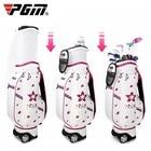 PGM Golf Bag Lady Bag Printed Flexible Tugboat Waterproof Air Bag Large-capacity Golf Bag