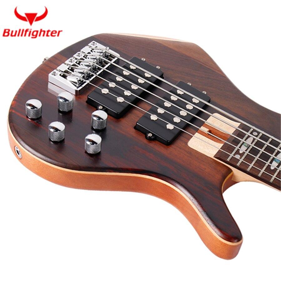 Torero DB-4 5 Performance guitare basse électrique 4 5 cordes micros actifs guitare basse métal Musicman guitare basse métal - 2