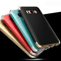 Odporny na wstrząsy Coque Aluminium Obudowy dla Samsung Galaxy S8/S8 Plus Metal Blade zderzaka Ramy Skrzynki Pokrywa Rękawem Smart phone