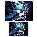 """Gundam Робот Аниме Сверху + Снизу для Ноутбука Наклейка для Apple MacBook Air Pro Retina 11 """"12"""" 13 """"15"""" Mac Ноутбук Art Полное Покрытие Кожи"""