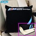Soportes de Asiento Almohada Cintura coche multiuso Estera Manta Manta Plegable Universal de Aire Acondicionado Siesta Fundas de cojines Para BMW