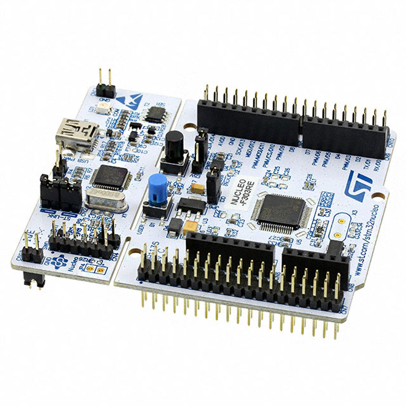 Image 2 - 1 pcs x NUCLEO F303RE Development Boards & Kits   ARM 16/32 BITS MICROS BOARD CORE CHIP STM32F303RET6 NUCLEO F303RE-in Integrated Circuits from Electronic Components & Supplies