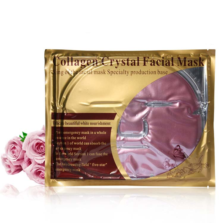 Ange Aile 5Pcs/Lot Red Wine Collagen Crystal Facial Mask