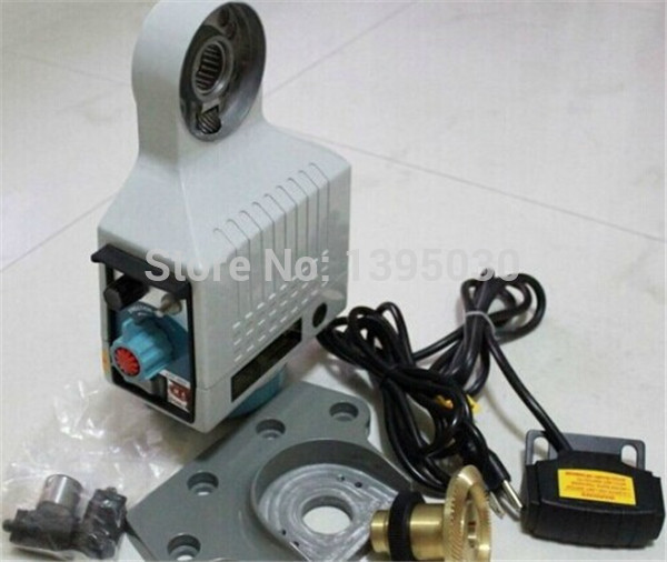 1pc  auto feed driller milling machine power feed free shipping 1pc 380v 180w 225n m power feed power feed drill machine power feed easy control auto feeder machine