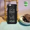 Demi lovato ataque cardíaco citações original preto casos de telefone celular para iphone 7 7 mais 6 6 mais 6 s 6 splus 5 5S 5c 4 4S b * 0069