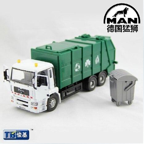 Eco-friendly truck garbage truck clean car toy car model child