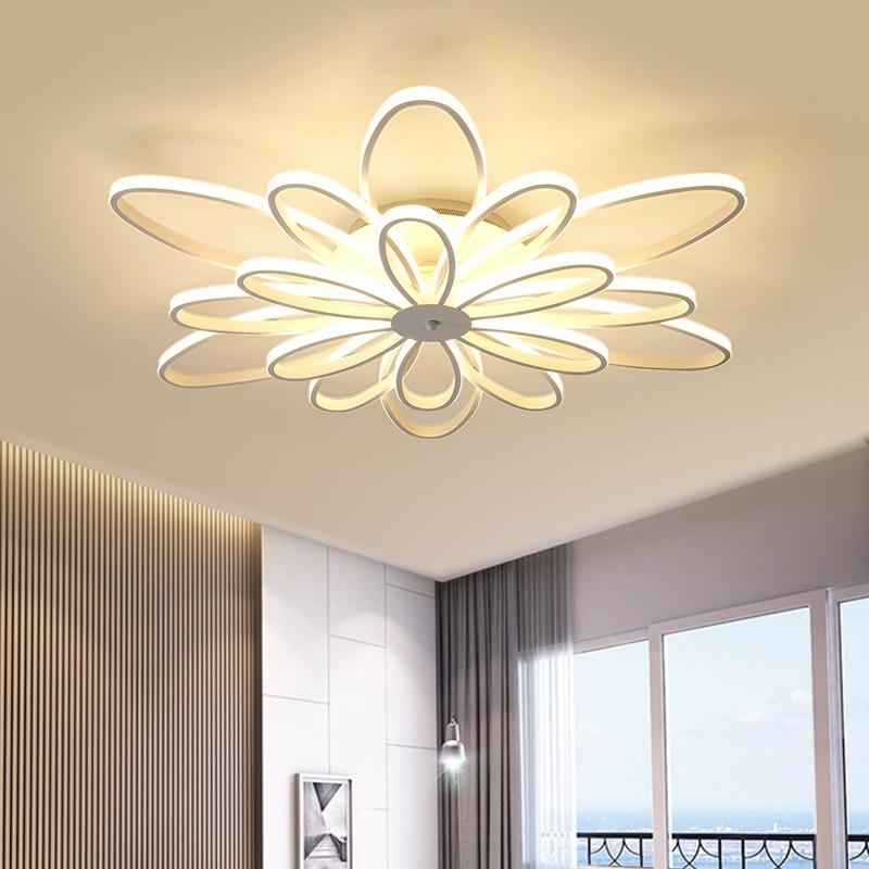 Postmodern minimalist LED ceiling light Warm and romantic living room bedroom study restaurant ceiling lamp commercial lighting