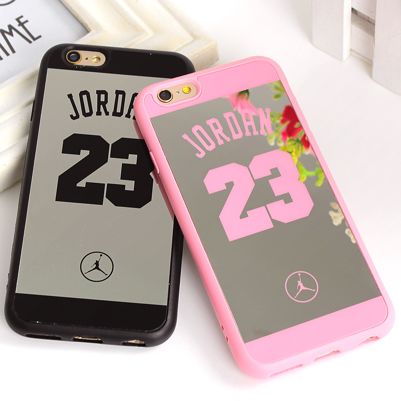 premium selection f7bb2 e786c US $1.99 |Clespruce fly Jordan 23 Coque Case For iphone SE 5 5s Back Cover  Lover Phone Mirror Case For iPhone X 6 6s 7 Plus 8 8Plus Fundas-in Fitted  ...