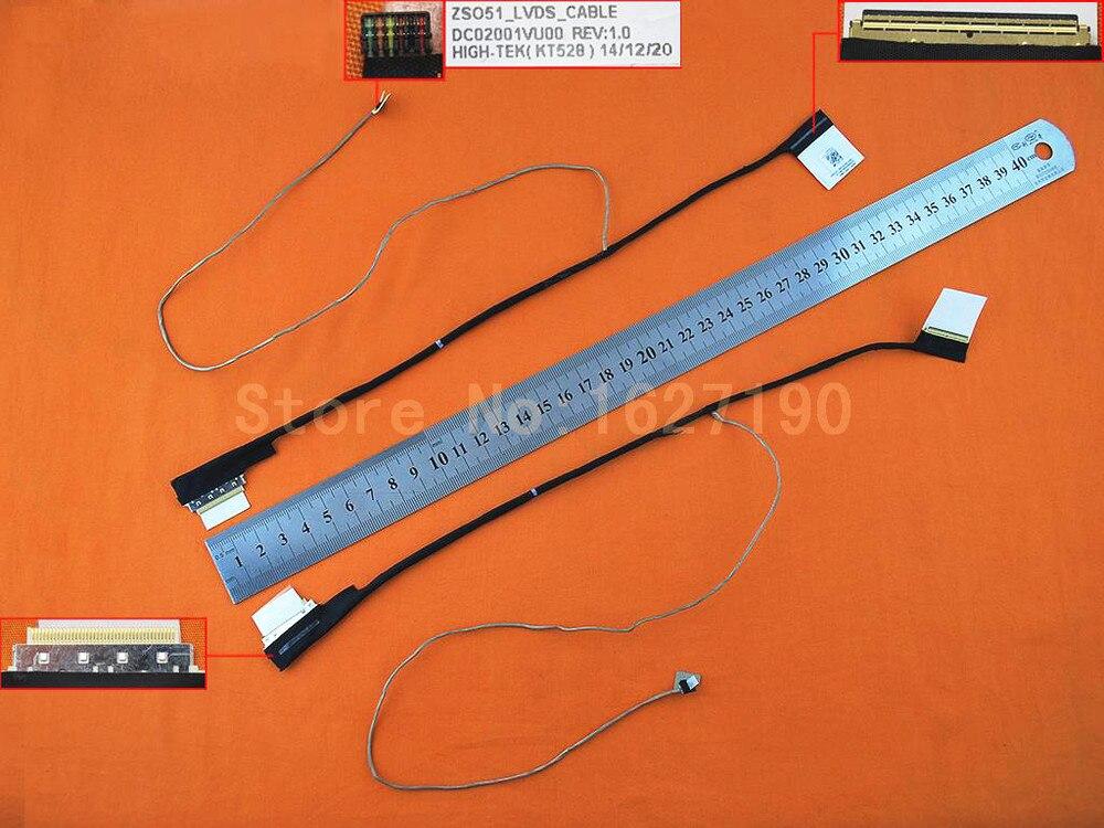 NEW Original Laptop Replacement LED Cable for HP pavilion 15 15-G 15-R 15-H 250 G3 dc02001vu00 749646-001 750635-001 LED LVDS