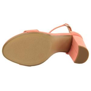 Image 5 - BIGTREE buty gorące wysokie obcasy nowe kobiety pompy klamra kobiet buty Party kobiety obcasy buty ślubne blok obcasy buty damskie 9.5 Cm