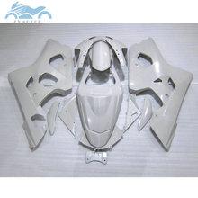 Hohe qualität Verkleidung set für SUZUKI 2004 2005 GSXR 600 750 motorrad verkleidungen kit 04 05 GSXR 750 GSXR600 K4 k5 voll weiß ZT36