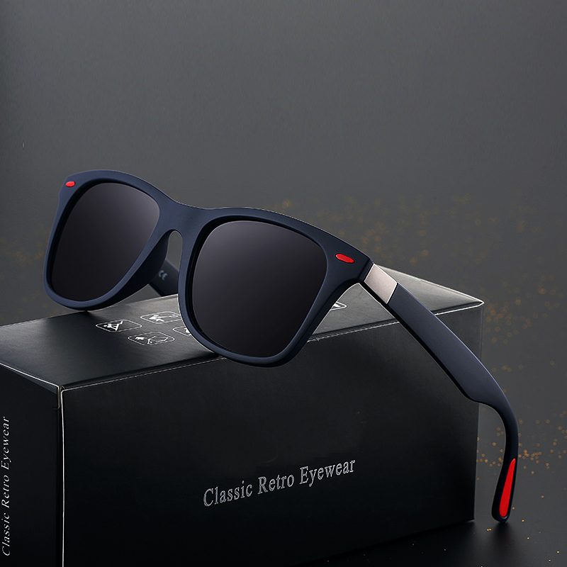 Classic Vintage Frame Polarized Men Women Designer Sunglasses