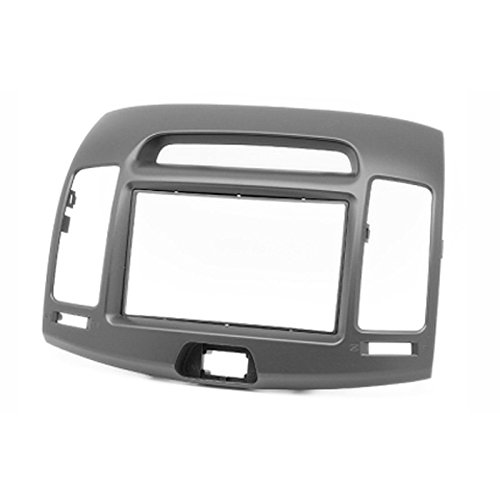 2 Din Car Radio Stereo Fascia Panel Frame DVD Dash Install Trim Kit for Hyundai Elantra (Hd), Avante (Hd) 2006-2010 (Left Wheel) цена