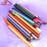 Flexible Sealing Wax Stick for Hot Melting Wax Glun Gun Rod Stick with 32 Colors In Pack - 11*140mm