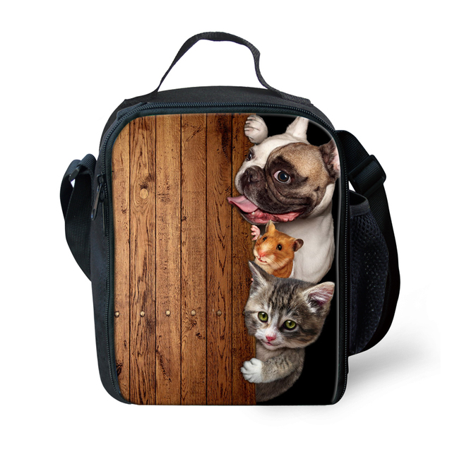 7d720167c427 US $16.99 15% OFF|stylish lunch bags for girls kids lunchbox for school  gifts cute dog thermal picnic box children students insulated lunch bags-in  ...