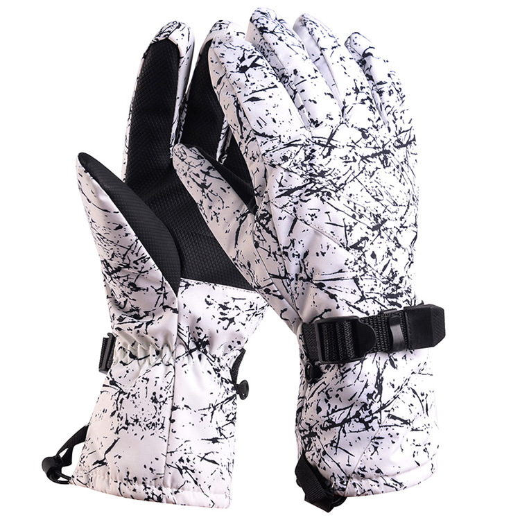 Women Men Thermal Ski Gloves Snowboarding Gloves Snowmobile Motorcycle Riding Windproof Waterproof Gloves Unisex Snow Gloves