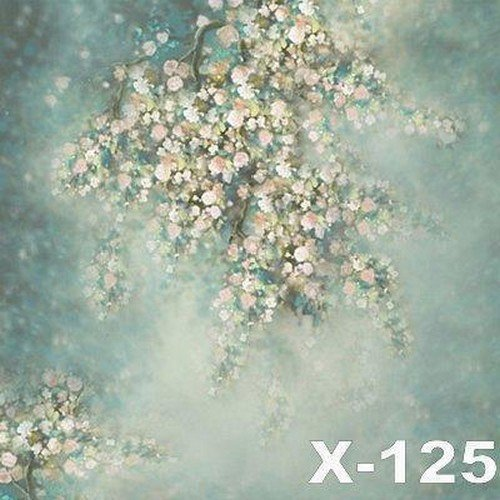 Vinyl cloth high quality computer printed bokeh photo backdrop flowers bokeh newborn photography backgrounds in background from consumer electronics on