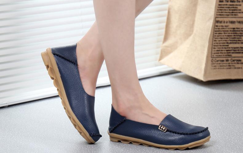 AH912 (19) women's loafers shoe