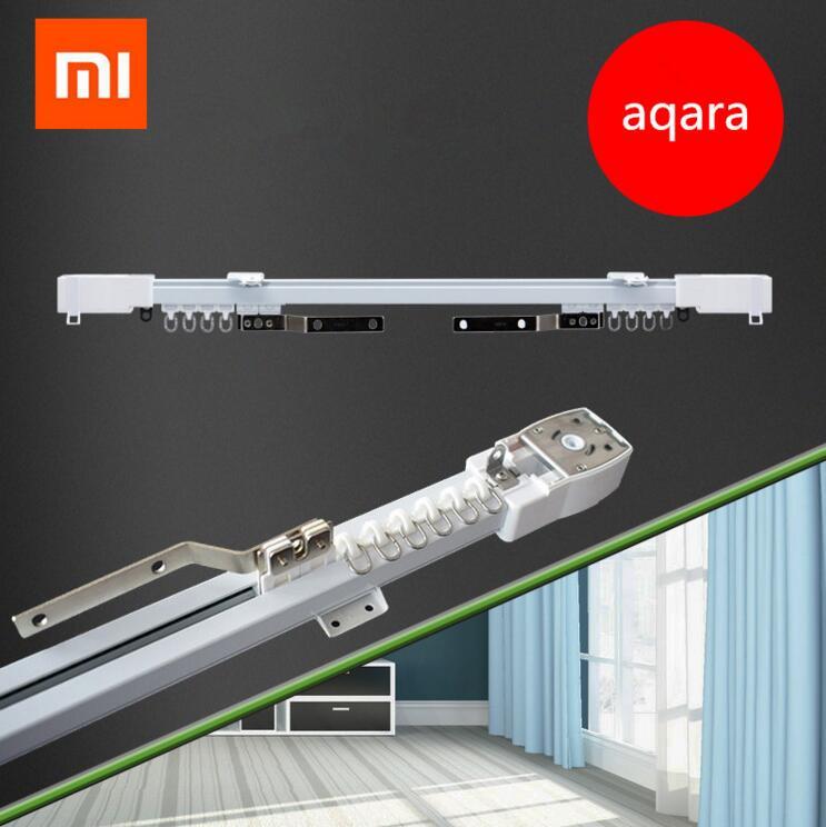 Original xiaomi aqara curtain motor or rail Zigbee wifi version,work with mi home app for xiaomi smart home silent curtain track
