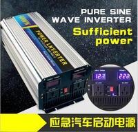 5000 Вт преобразователь пиковой мощности 2500 Вт Чистая синусоида Инвертор 12 В постоянного тока до 220 В/110 В 50 Гц/60 Гц переменного тока Чистая син