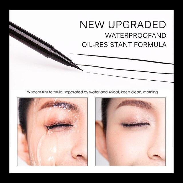 BANXEER Eyeliner Waterproof Liquid Eyeliner Make Up Beauty Cosmetic Long-lasting Eye Liner Pencil Makeup Tools For Women 2
