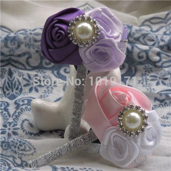Pearl tête broches Rouge fleuristes corsage boutonnière 4cm de boîte de 144