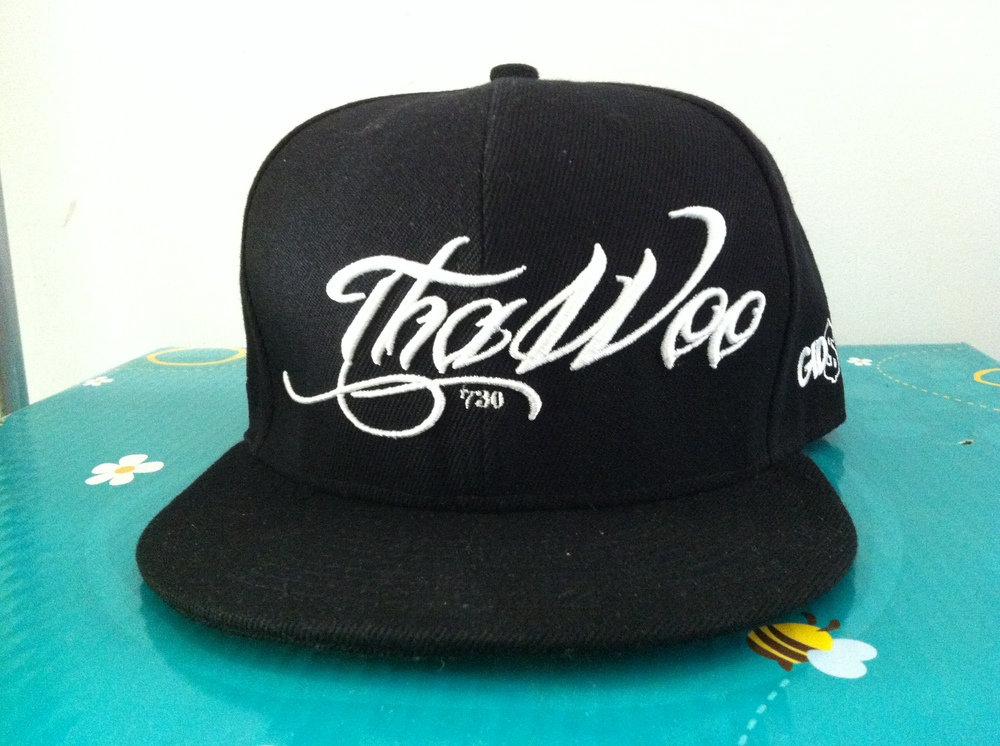 Custom 3d Embroidery Logo Flat Brim Hats Snapback Hats Baseball Caps