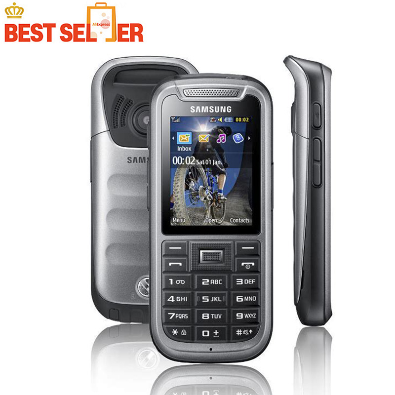 Desbloqueado Samsung C3350 2,2 pulgadas pantalla GSM GPS Bluetooth reacondicionado Mini SIM desmontable tarjeta Sim única teléfono móvil-in Los teléfonos móviles from Teléfonos celulares y telecomunicaciones on AliExpress - 11.11_Double 11_Singles' Day 1