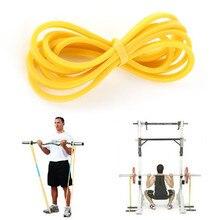 Látex elástico Loop Band Venda de la Resistencia Crossfit Entrenamiento de Fitness Entrenamiento de Cuerpo Amarillo Azul Verde Rojo
