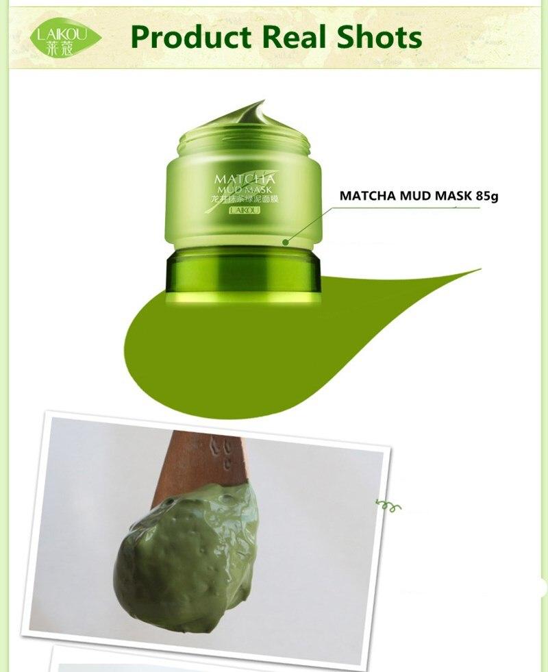 LAIKOU Matcha Mud Mask