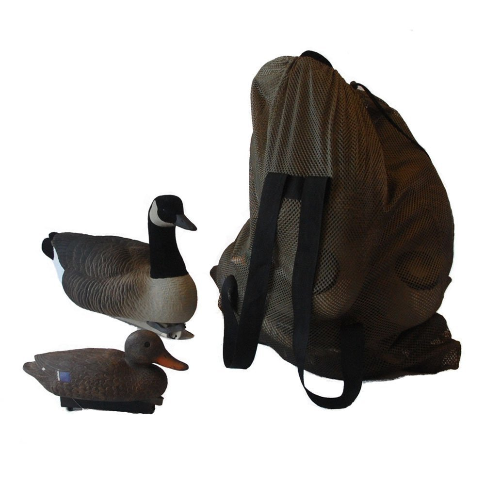 My Days Adjule Shoulder Straps Mesh Decoy Bags For Duck Goose Turkey Carrier 27inch X40inch Hunting Accessories In From Sports