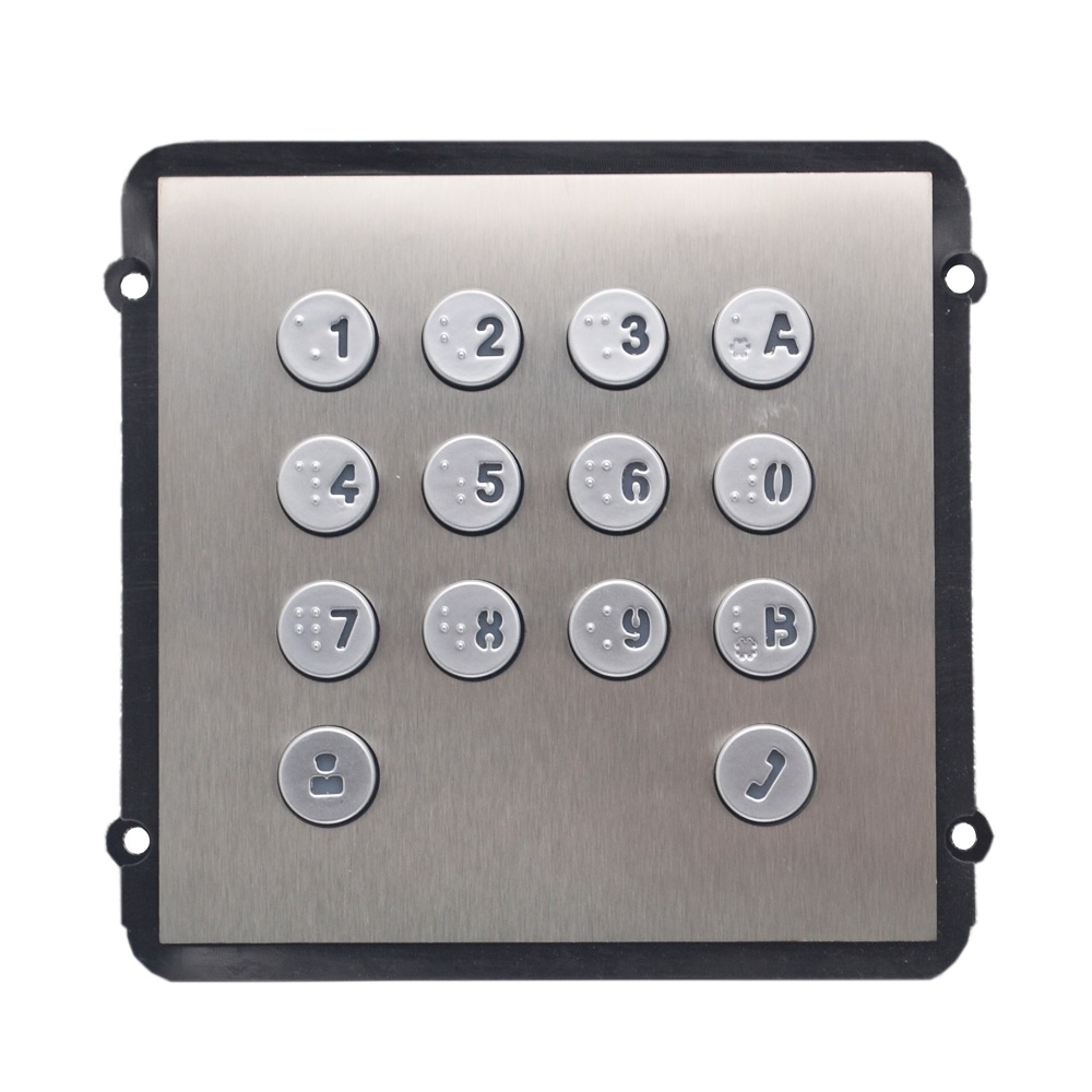 VTO2000A-K Keyboard Module For VTO2000A-C, IP Doorbell Parts,video Intercom Parts,Access Control Parts,doorbell Parts