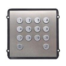 VTO2000A K модуль клавиатуры для VTO2000A C, ip дверной звонок, части видеодомофона, части контроля доступа, части дверного звонка