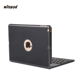 witsp@d Luxury Bluetooth Keyboard Case For NEW IPAD 9.7