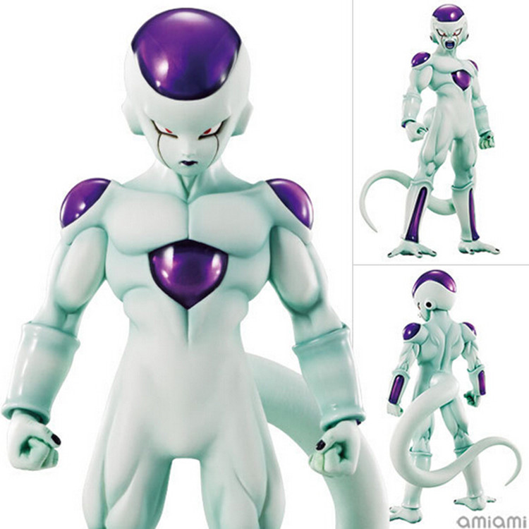 ФОТО MEGAHOUSE DOD Action Figure Toys Ultimate form of Dragon Ball Felisaz Frieza Queen Decoration 19CM PVC Doll Model For Kids Toys