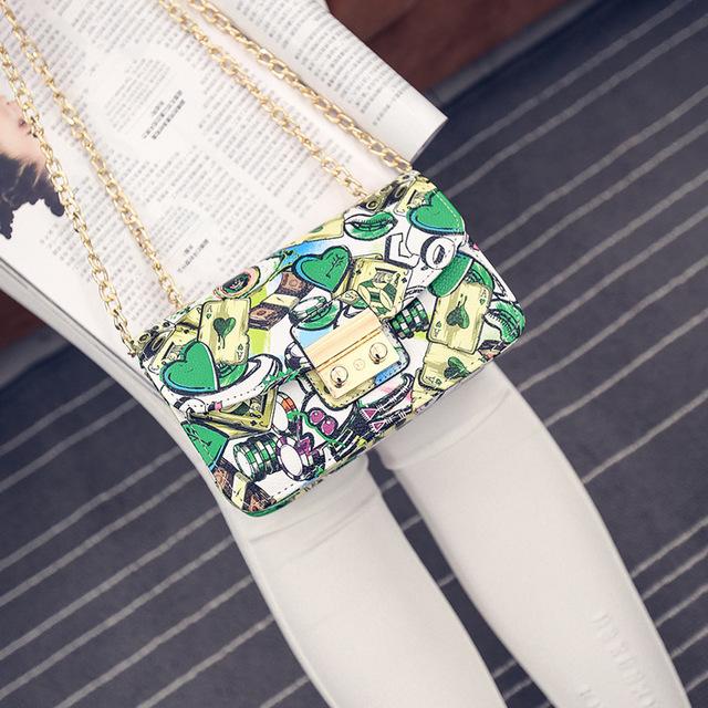 2017 New Fashion Female Shoulder Bag Lady Chain handbag women messenger bags crossbody bag bolsas femininas