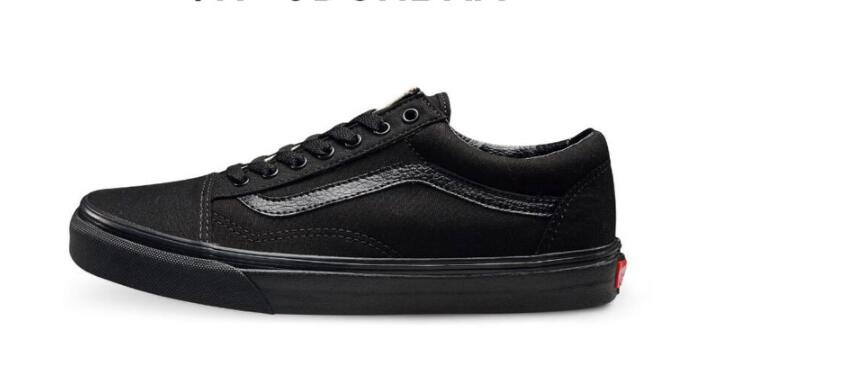 vasn old skool all black