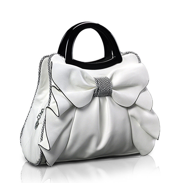 2017 New Arrive Summer HandBag Top-Handle Bags Women's Handbags Bow Flowers Luxury Women Bags Shoulder Bag Ladies