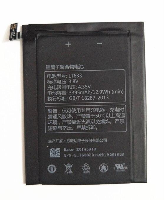 AZK LT633 batterie de haute qualité pour Letv Le 1 Max X900 Le un Max X900 batterie 3395mah 3400mah