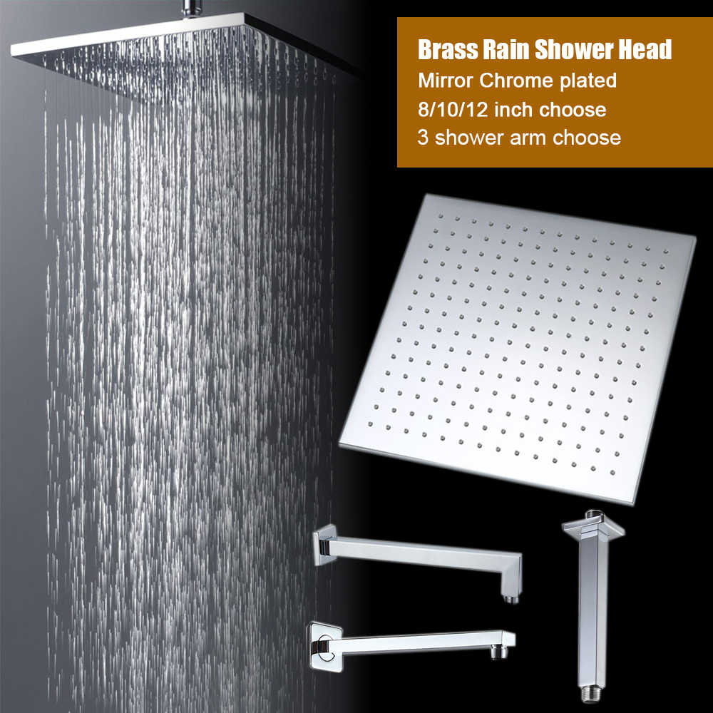 Detail Feedback Questions About Quality Square Rain Shower Head