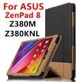 Case For ASUS ZenPad 8.0 Z380M Защитные Смарт Кожаный чехол таблетка Для ASUS ZenPad 8 Z380KNL Z380KL PU Protector Рукава case