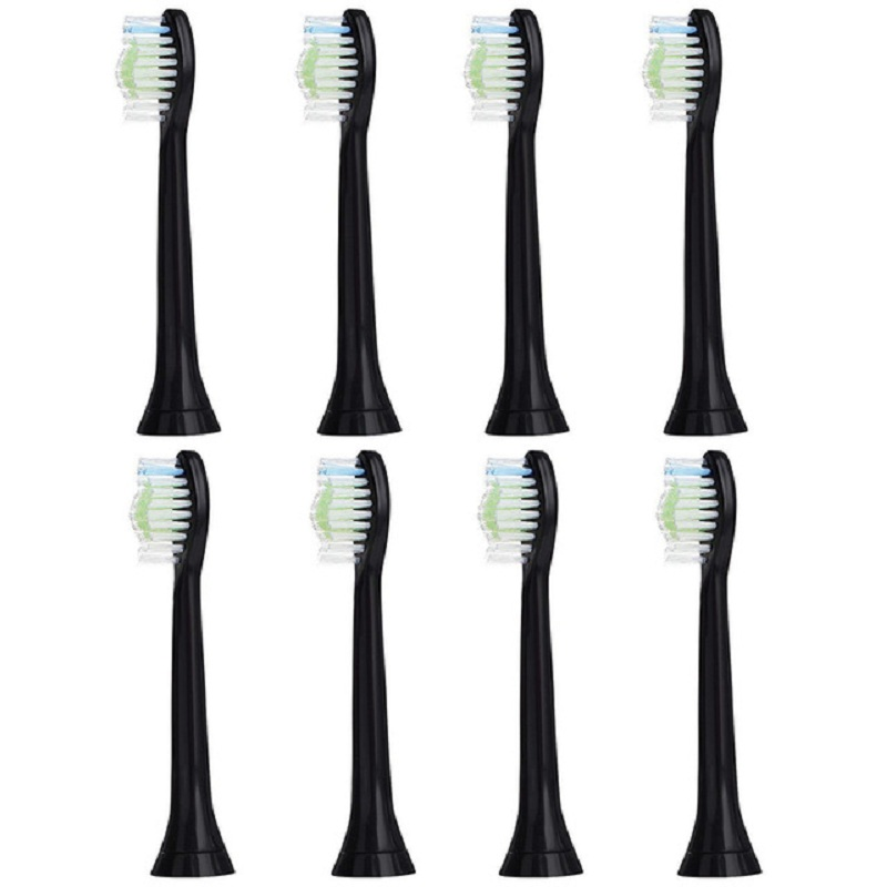 12pcs/lot Replacement Toothbrush Heads For Philips Sonicare DiamondClean HydroClean Black HX6064 Electric Tooth Brush Heads image
