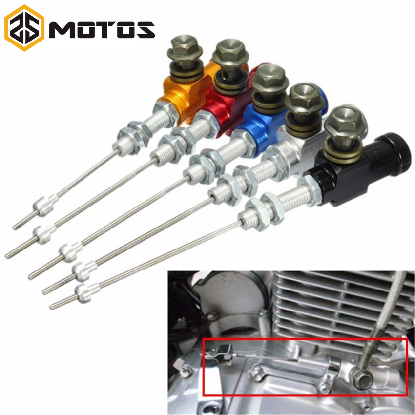 ZS MOTOS Motorcycle Modified Hydraulic Brake Clutch Cable Hydraulic Clutch Pump Cylinder Pump M10x1.25mm motorcycle hydraulic clutch brake pump m10x1 25mm black red blue silver gold