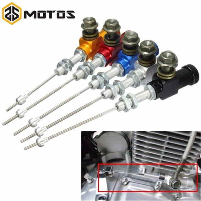ZS MOTOS Motorcycle Modified Hydraulic Brake Clutch Cable Hydraulic Clutch Pump Cylinder Pump M10x1.25mm