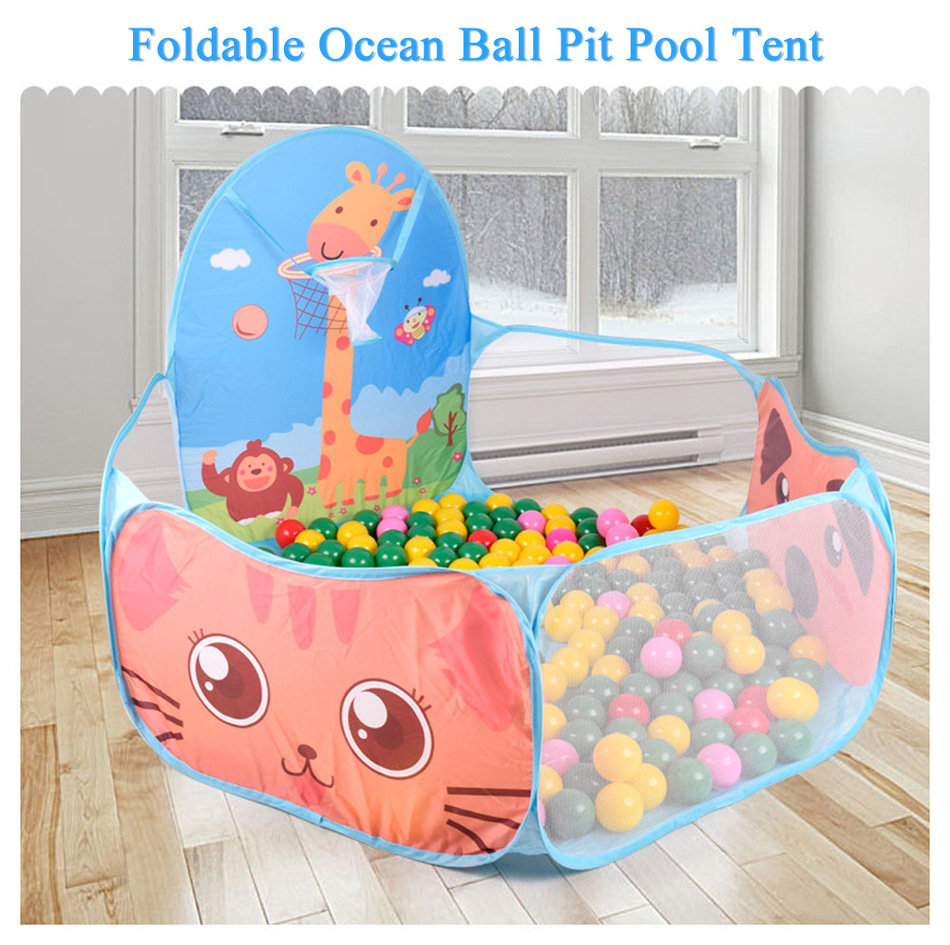 Foldable Outdoor Indoor Kids Game Play Toy Tent Outdoor Portable Ocean Ball Pit Pool High Quality Christmas Birthday Gift