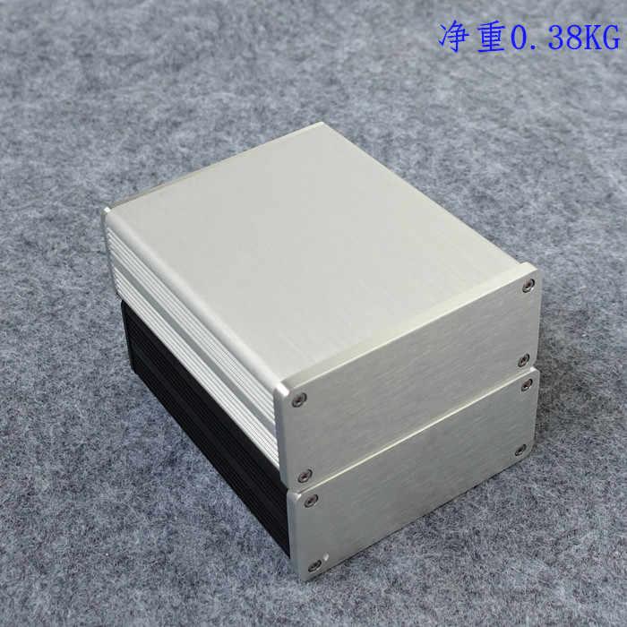 Бесплатная доставка 1205 черный Полный алюминиевый корпус аудиоусилителя/Мини AMP Корпус/предусилитель коробка/БП шасси