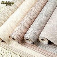 Beibehang papel de parede. đơn giản đồng bằng nhỏ sọc pinstripe wallpaper cuốn PVC vinyl trang trí nội thất tường giấy cho phòng ngủ nền