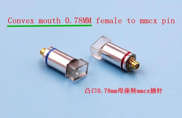 Tüketici Elektroniği'ten Kulaklık Aksesuarları'de MMCX 0.78 ie80 qdc FitEar JH exk pin adaptörü 0.78mm dişi mmcx pin 1 çift (2 ADET) title=